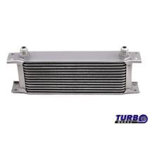 Olajhűtő TurboWorks 13-soros 260x100x50 AN10 Ezüst